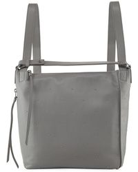AllSaints - Kathi Studded Leather Backpack - Lyst