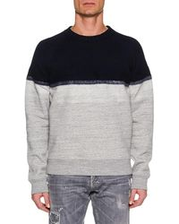 DSquared² - Men's Colorblock Wool-yoke Sweater - Lyst