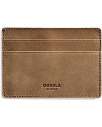 Shinola - Men's Outrigger Leather Id Card Case - Lyst