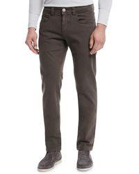 Loro Piana - Tasche 5-pocket Slim-fit Denim Jeans - Lyst