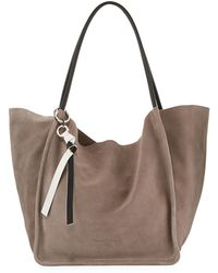 a8fed4c76f9 Proenza Schouler - Extra Large Light Suede Tote Bag - Lyst