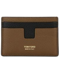 Tom Ford - Men's Leather Credit Card Case - Lyst