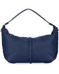 2cc799c41c0d Bottega Veneta - Cervo Medium Leather Shoulder Hobo Bag - Lyst