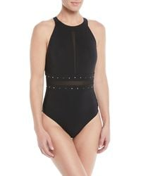 Shan - So Sexy High-neck One-piece Swimsuit - Lyst