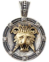 Konstantino - Men's Myrmidones Round Lion-face Pendant - Lyst