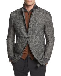 Ermenegildo Zegna | Check Wool-blend Two-button Blazer | Lyst
