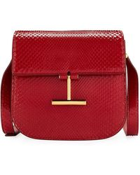 Tom Ford - Tara Python Shoulder Bag - Lyst