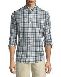 Vince - Multi-plaid Sport Shirt - Lyst