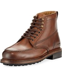Tom Ford - Cromwell Leather Hiking Boot - Lyst