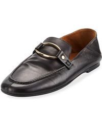 Isabel Marant - Ferlyn Convertible Calf Leather Loafer - Lyst