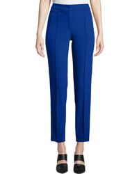 ESCADA - Tusko Straight-leg Ankle Pants - Lyst