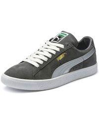 PUMA | Clyde Suede Platform Low-top Sneaker | Lyst