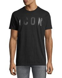 DSquared² - Men's Icon Typographic T-shirt - Lyst