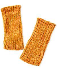 Rebecca Minkoff - Rib Knit Chenille Arm Warmers - Lyst