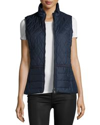 Barbour - Ellen Quilted Gilet Vest Jacket - Lyst