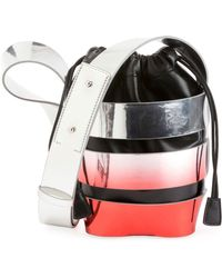 Paco Rabanne - Cage Mini Ombre Hobo Bag - Lyst