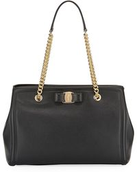 Ferragamo - Melike Vara Medium Tote Bag - Lyst