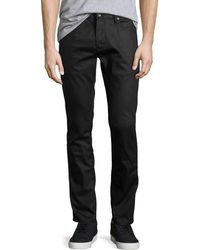 John Varvatos | Wight Coated Skinny Jeans | Lyst