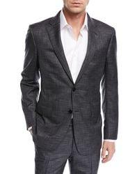 Ermenegildo Zegna - Striated Wool Two-piece Suit - Lyst