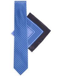 Stefano Ricci - Large-square Silk Tie & Pocket Square Set - Lyst