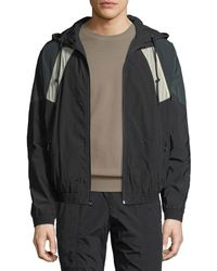 Vince - Hooded Soft-shell Jacket - Lyst