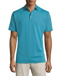Peter Millar | Competition Striped Polo Shirt | Lyst