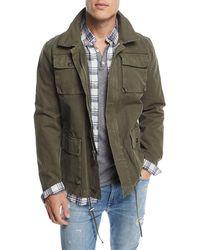 Joe's Jeans - Men's Tribe Twill Army Jacket - Lyst