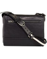 Bally   Tamrac Men's Leather Messenger Bag   Lyst