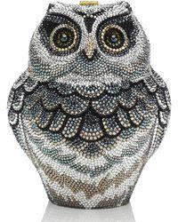 Judith Leiber - Wisdom Owl Evening Clutch Bag - Lyst