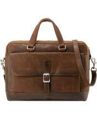 Frye - Men's Oliver Two-handle Bag - Lyst