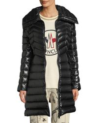 Moncler - Faucon Fitted Puffer Coat - Lyst