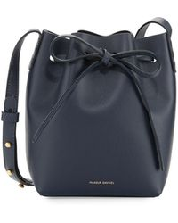 Mansur Gavriel - Calf Leather Mini Mini Bucket Bag - Lyst