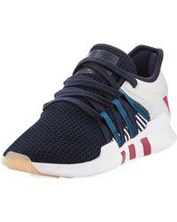 Le scarpe da ginnastica adidas eqt avanzati in blu per gli uomini lyst