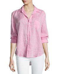 Frank & Eileen - Eileen Button-front Shirt - Lyst