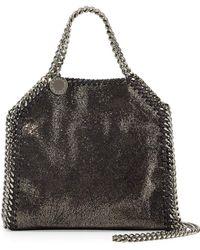 Lyst - Stella McCartney Falabella Tiny Star Shoulder Bag in Black 4f29db9eeba92