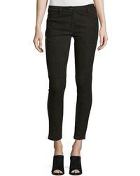 Michael Kors - Five-pocket Skinny-leg Leather Jeans - Lyst