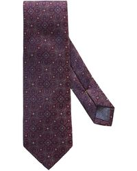 Eton of Sweden - Dotted Medallion Tie - Lyst