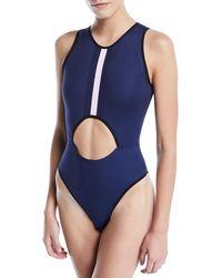 Ultracor - Point Break Collegiate One-piece Swimsuit - Lyst