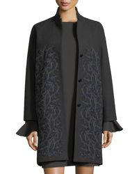 Loro Piana   Winter Sonnet Embroidered Cashmere Car Coat   Lyst