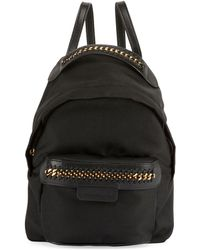Stella McCartney - Eco-nylon Woven-trim Backpack - Lyst