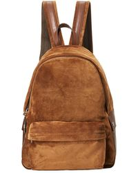 Brunello Cucinelli - Suede Backpack - Lyst