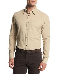 Brioni | Corduroy Sport Shirt | Lyst