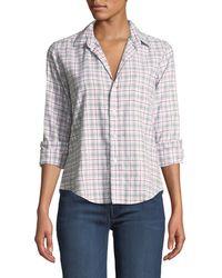 Frank & Eileen - Eileen Plaid Long-sleeve Button-down Shirt - Lyst