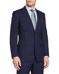 Brioni - Men's Tonal Windowpane Two-piece Suit - Lyst