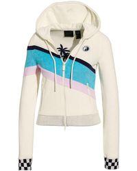 PUMA - Terry Cloth Zip-up Racing Jacket - Lyst