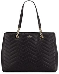 Kate Spade - Reese Park Courtnee Leather Shoulder Tote Bag - Lyst