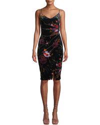 Black Halo - Bowery Floral Dress - Lyst
