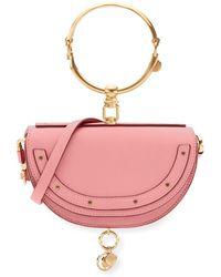 Chloé   Nile Small Bracelet Minaudiere Bag   Lyst