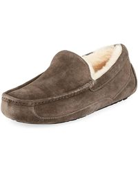 UGG - Men's Ascot Suede Slippers - Lyst