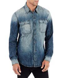 True Religion - Denim Work-wear Shirt - Lyst